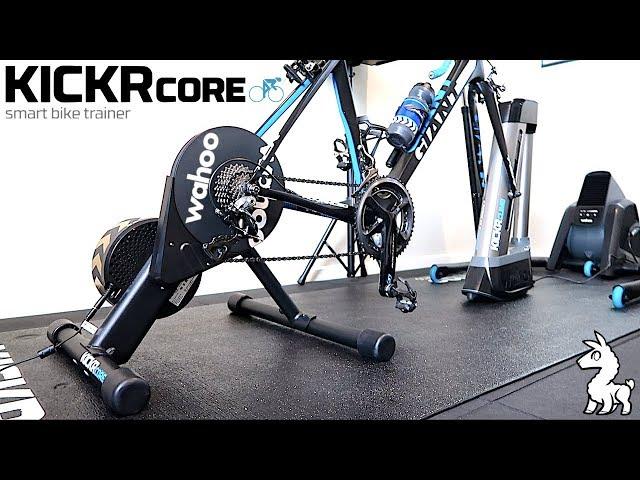 Видео Велотренажер Wahoo KICKR Core Smart Trainer