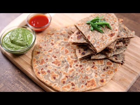 Keema Paratha Recipe | Indian Flatbread Stuffed With Minced Meat | The Bombay Chef – Varun Inamdar