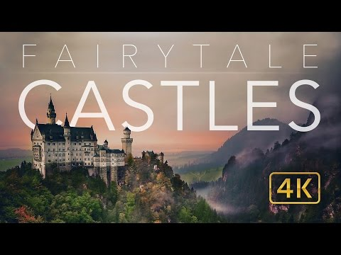 Amazing Drone Compilation of Europe's Castles and Palaces