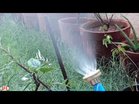 Garden Mist Nozzle 4-Hole