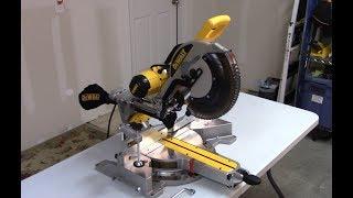 DeWalt Miter Saw Review DWS780