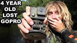 I FOUND A 4 YEAR OLD GOPRO!! River Treasure Hunting With Dallmyd! - Video Youtube