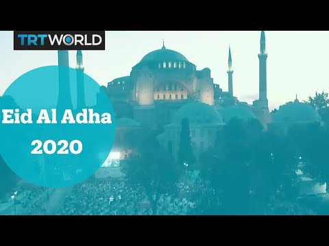 Muslims around the world celebrate Eid al Adha 2020