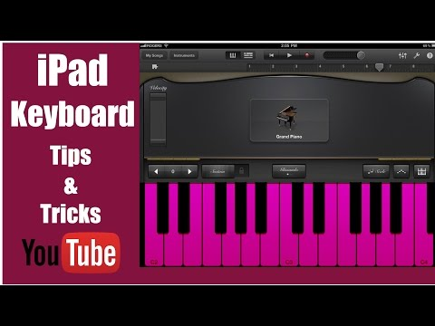 Garageband Tutorial – Keyboard Tips & Tricks – Apple iPad
