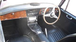 preview picture of video '1966 Austin Healey Seized on behalf of private bailiffs - Clwyd Auction Centre ewloe'