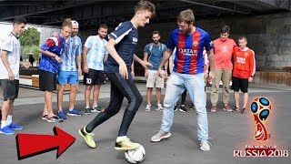 I WENT TO RUSSIA TO NUTMEG WORLD CUP FOOTBALL FANS !? (CRAZY REACTIONS)