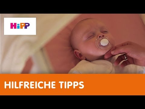 Babys Schlaf – die wichtigsten Hebammen-Tipps (HiPP Ratgeber)