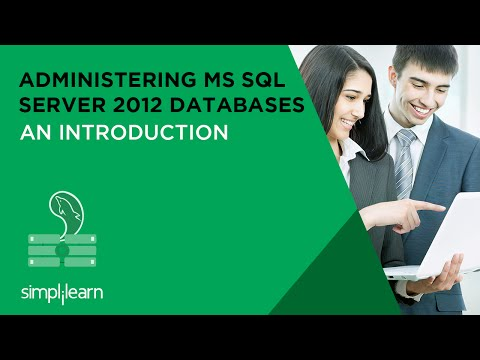 Introduction to Administering MS SQL server 2012 Databases ...