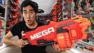 INSIDE THE ULTIMATE NERF FORTRESS