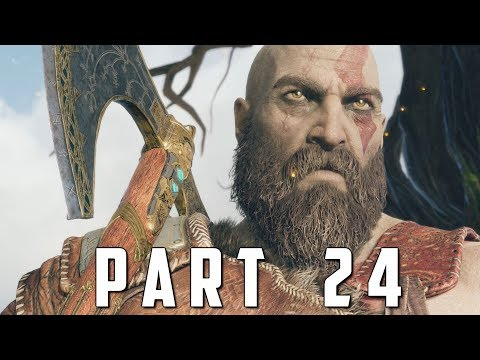 GOD OF WAR Walkthrough Gameplay Part 24 - WHETSTONE (God of War 4)