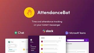 AttendanceBot video