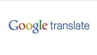 Text Translation on Google Translate