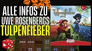 Tulpenfieber - Brettspiel von Uwe Rosenberg (Amigo Spiele 2021)