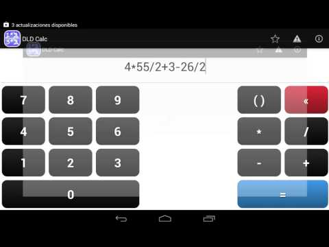 Video of DLD Calc - Math Calculator