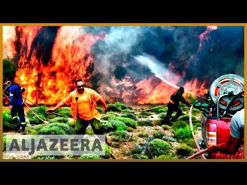 🇬🇷 'A sea of fire': Greece wildfire survivors recount horror | Al Jazeera English