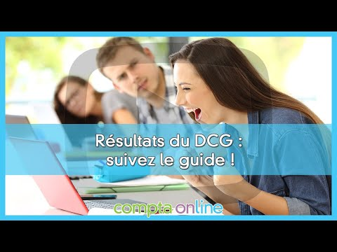 Consulter les résultats du DCG