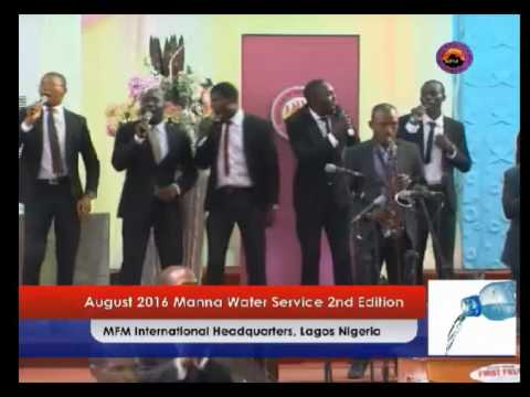 Manner Water August 2016 2nd Edition - Dr D K Olukoya