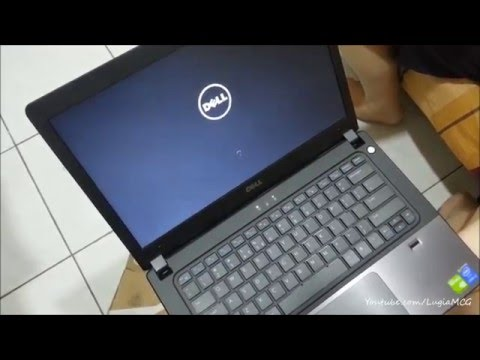 Dell Vostro 5480 i7-5500U - Unboxing and First Boot