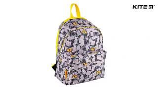 """Рюкзак Kite Advanture Time AT18-1001M от компании Интернет-магазин """"Радуга"""" - школьные рюкзаки, канцтовары, творчество - видео"""