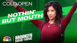 Cold Open: Rosa Chucks D-Holes into Jake's Mouthpiece - Brooklyn Nine-Nine