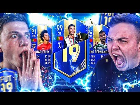 FIFA 19 : Garantierte TOTS PACKS BATTLE vs NoHandGaming
