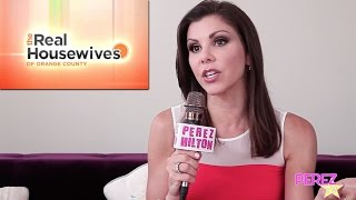 Heather Dubrow On How She's Loosened Up On RHOC, Marriage With Terry & What's To Come This Season!