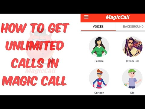 How to get unlimited Calls in magic call app | without giving money | stunner rk