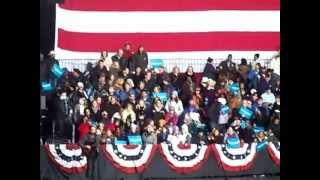 """Dave Matthews """"Funny the Way It Is"""" at Obama Rally"""