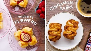 Try These 8 Simple Techniques to Make Impressive Puff Pastry Treats!! DIY Desserts by So Yummy