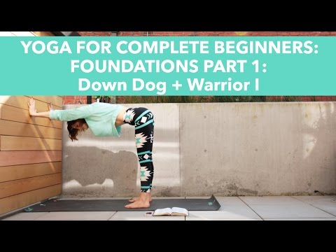 Christian Yoga For Beginners: Foundations Part 1, Down Dog, Warrior I