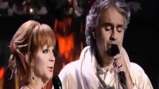 Merry Christmas & Happy New Year Everyone Andrea Bocelli feat  Reba McEntire Blue Christmas Duo