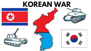Divided Korea : South and North Korea || Korean War