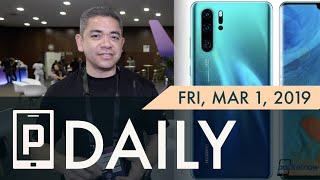 Huawei P30 Pro design leaked, Apple sales picking up & more