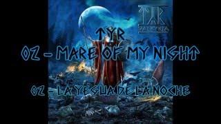 02 - Týr (Valkyrja) - Mare of my night (letra inglés - español)