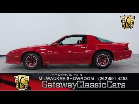 Video of '89 Chevrolet Camaro located in Kenosha Wisconsin - $17,995.00 Offered by Gateway Classic Cars - Milwaukee - KE4I