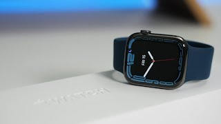 Apple Watch Series 7 Unboxing, Setup and First Look