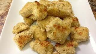 Healthy Chicken Nuggets - HASfit Healthy Chicken Recipes - Healthy Kids Recipe - Chicken Recipe