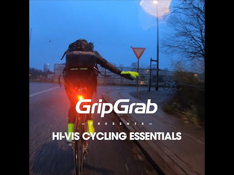 GripGrab Hi-Vis Cycling Essentials Gul video