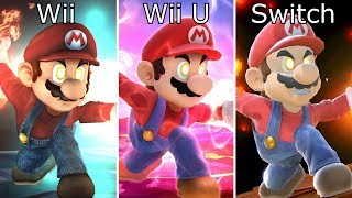 Super Smash Bros Switch vs Wii U vs Wii Final Smash Comparison - dooclip.me