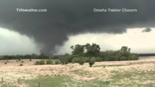 April 14, 2012 EF-4 tornado near Marquette, Kansas!
