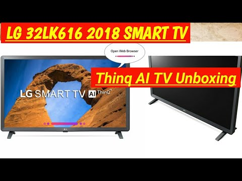 LG 32LK616 HD Ready  Smart LED TV
