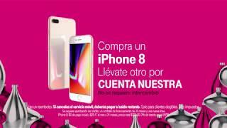 Este Black Friday llévate un iPhone 8 para ti y otro para regalar.