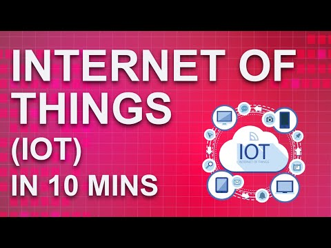 Internet Of Things (IoT) In 10 Minutes | What Is IoT And How It Works ...