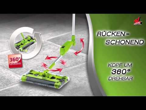 Swivel Sweeper Akku-Besen - präsentiert von tvdoo.de