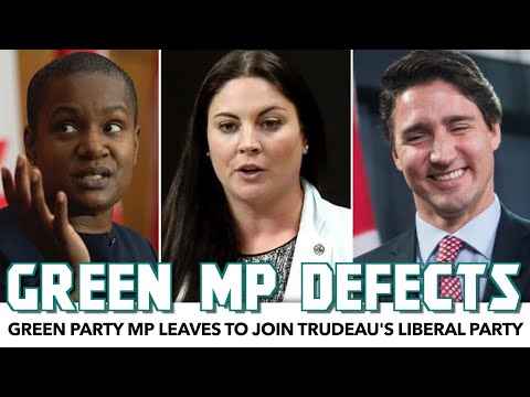 Green Party MP Defects To Trudeau's Liberal Party