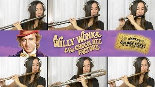 Pure Imagination: Willy Wonka on Flute + Sheet Music!