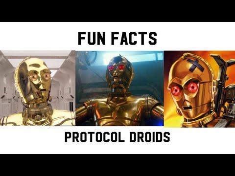 Fun Facts   Protocol Droids...C-3PO & C-3PX v E9 C-3PO