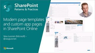 Community Demo - Out Of The Box Modern Page Templates And App Pages Built With SharePoint Framework