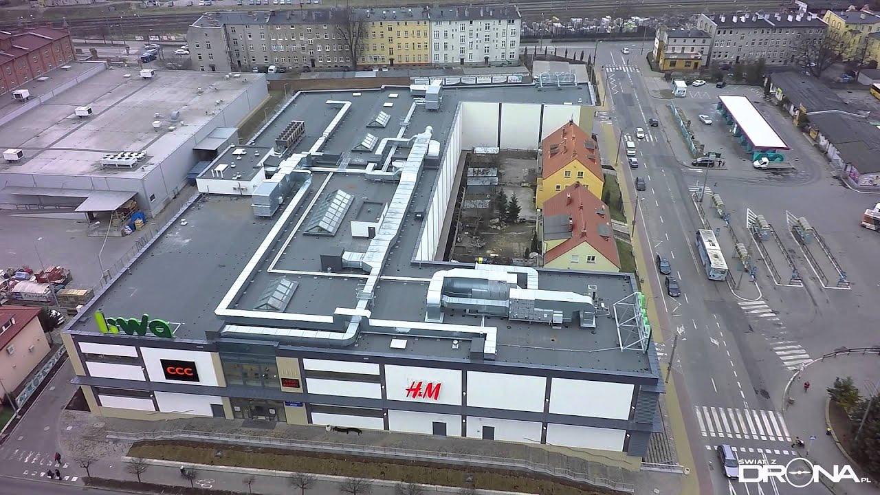 Centrum Handlowe Liwa w Kwidzynie wygrało w konkursie makaBRYŁA 2015, Tak wygląda z góry.