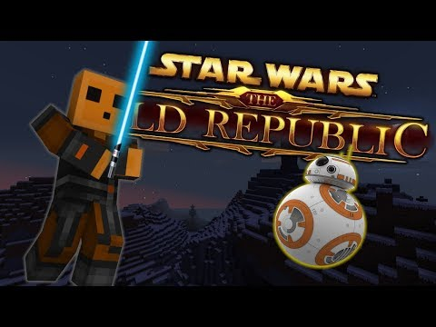 Minecraft STAR WARS THE OLD REPUBLIC OFFICIAL TRAILER | STAR WARS Minecraft Roleplay